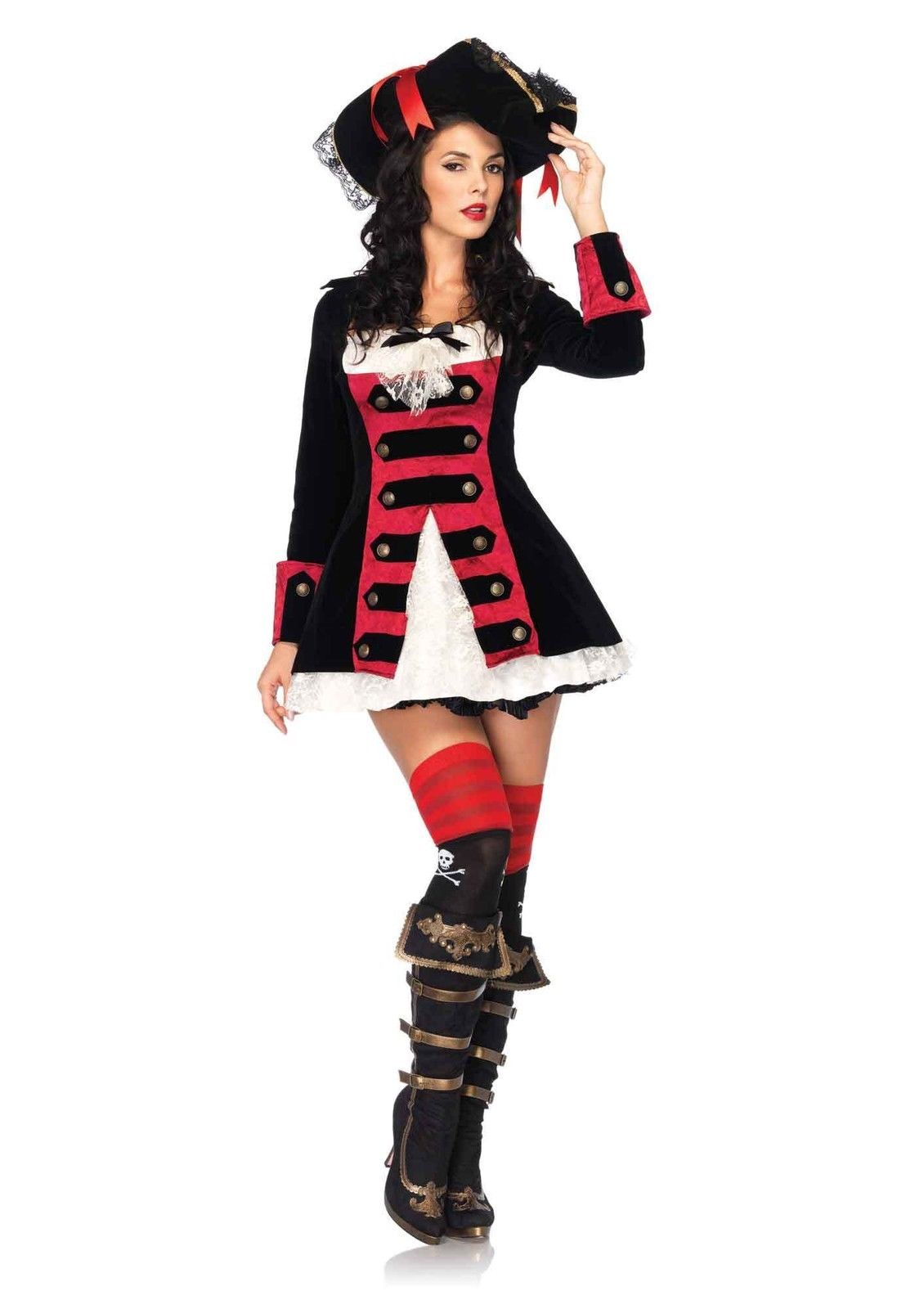 IPC83792 - Leg Avenue Pirate Captain Womenu0027s Adult Costum  sc 1 st  Tytroy Inc toys parties : catwoman costume leg avenue  - Germanpascual.Com