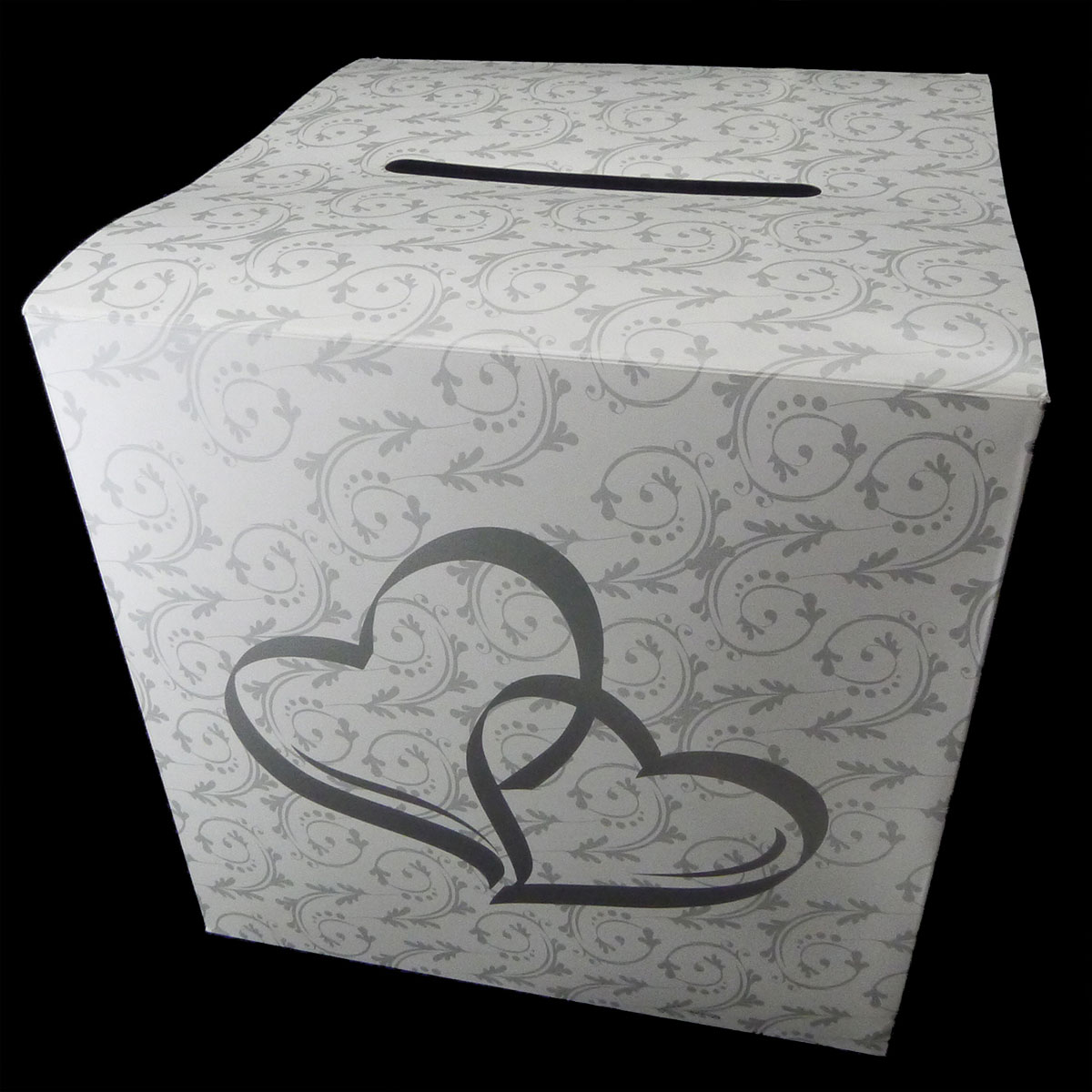 Tytroy Inc Wedding Card Money Gift Box Two Hearts Reception Wishing