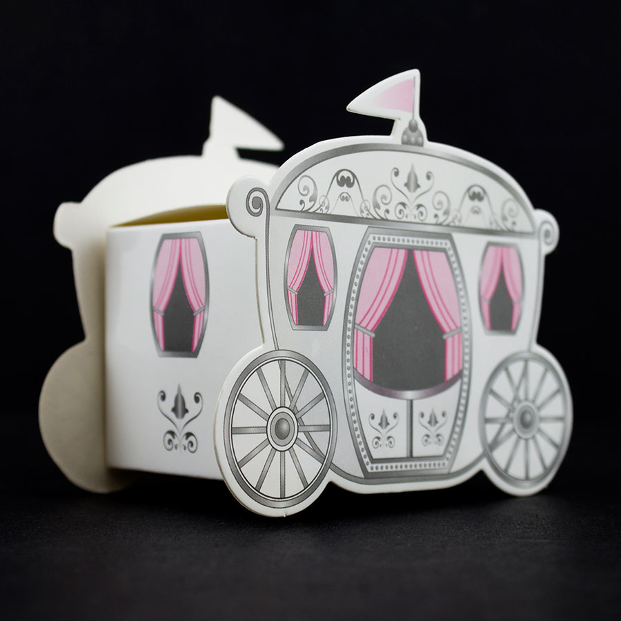 Tytroy Inc Fairy Tale Wedding Enchanted Carriage Favor Boxes